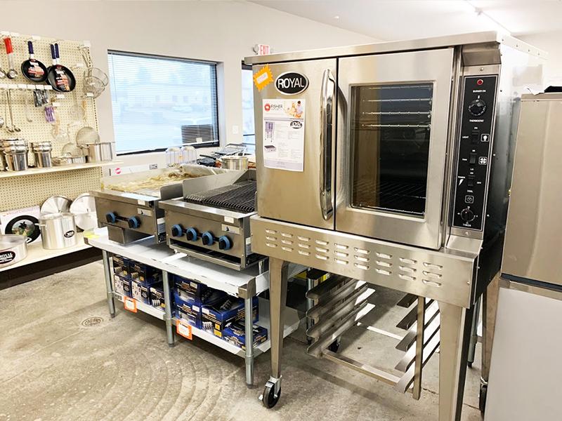 fisher fixture cooking equipment